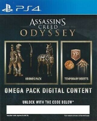 Assassin's Creed® Odyssey - PACK OMEGA DLC PS4