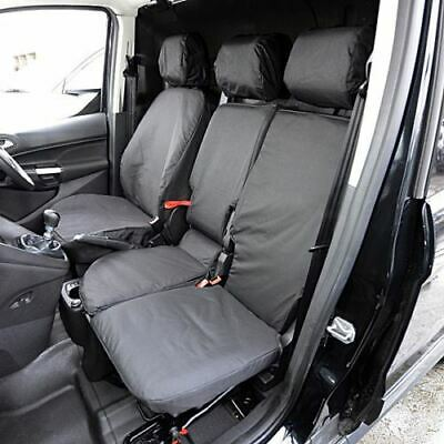 Ford Transit Connect Fully Tailored Waterproof Heavy Duty Van Seat Covers Black
