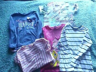 Girls T-shirt/Top Bundle - Size 6-7 Years - F&F and M&S