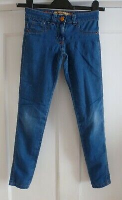 Girls Age 9 yrs Super Skinny Blue Jeans from New Look