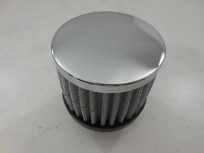 R9308 Chrome Push In Filter Breather