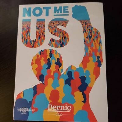 New Car Decal Sticker - Not Me US  - Bernie Sanders for President USA 2020