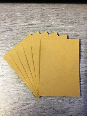 Small Brown Envelopes 98 x 67mm  Dinner Money Wages Coins Beads and Seeds  x 20