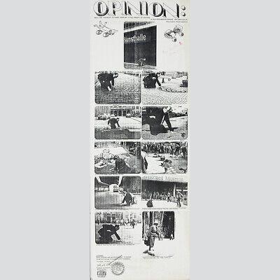Fluxus. Gebhard Eirich. OPINION: About the possibility to make Skate-Art 1978