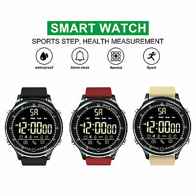 XGODY Bluetooth Digital Smart Watch Sport Activity Bracelet For Android iPhone