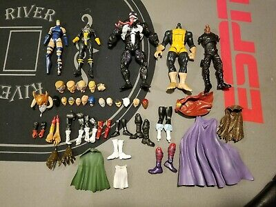 Custom Marvel Legends DC Action Figure Fodder Lot Weapons Accessories
