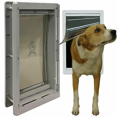 Pet Door Extreme Weather Dog Medium Exterior Cat Entry Dogs Heavy Duty 5-20 Inch