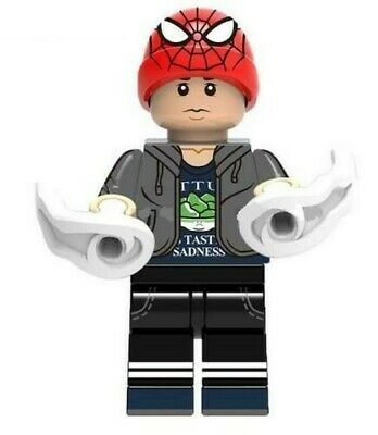 Brand New Peter Parker Spiderman Super Heroes Marvel Lego Mini Figure