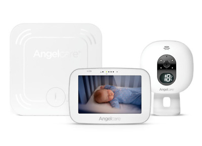 Angelcare AC527 Wireless Pan & Zoom Audio & Video & Movement Baby Monitor