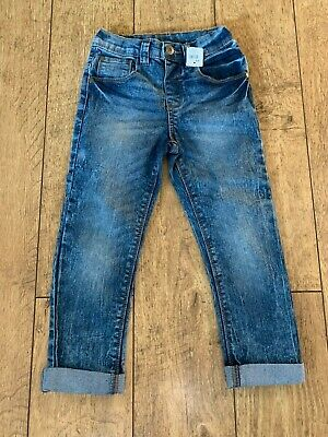 Boys M&CO Slim Fit denim Jeans Age 4-5 Brand New With Tags