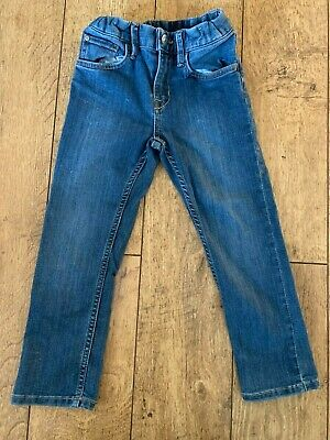 Boys H&M Slim Fit Denim Jeans Age 4-5 years Adjustable Waist