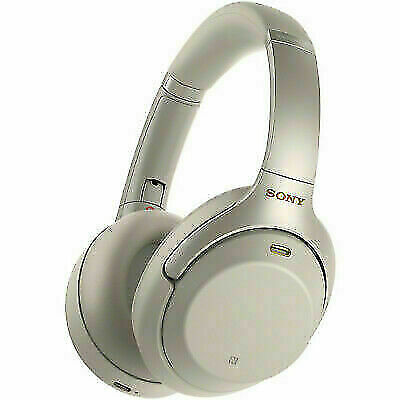 Sony WH-1000XM3 Over the Ear Wireless Headphones - Silver
