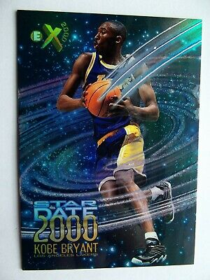 1996 Skybox E-X2000 Star Date 2000 Kobe Bryant ROOKIE RC #3 RARE SP LAKERS