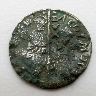 Ancient Artifact Silver Coin With Unresearched Origin Presumably From Spain