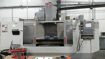 Haas VF-7D/40 - New 2002, 7,500 RPM, 4th Axis Ready, Programmable Coolant