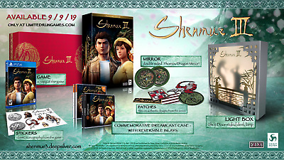 Shenmue 3 - Collector's Edition - Ps4 - Limited Run Edition - 5000 Pzi.