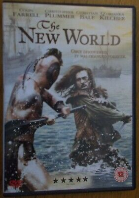 The New World - DVD - Colin Farrell / Christian Bale - 2005 - Excellent cond.