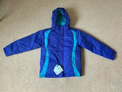 BNWT Girls Mountain Warehouse Snow Jacket Age 9/10 Years