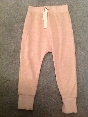 Baby Toddler Girls Next Comfy Harem Pants Pink Joggers Cosy Trousers 2-3 Years