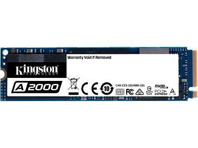 Kingston A2000 M.2 2280 500GB NVMe PCIe Gen 3.0 x4 3D NAND Internal Solid State