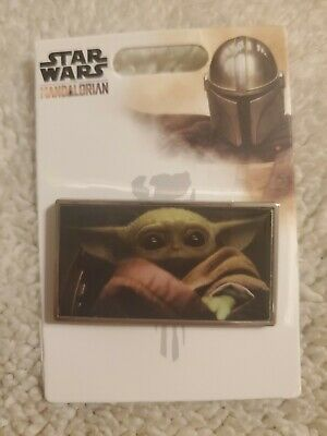 Disney Parks 2020 The Mandalorian Baby Yoda Star Wars Pin