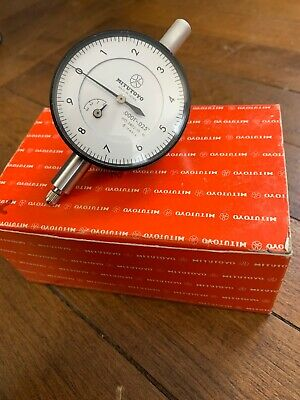 "Mitutoyo No. 2802-10 Dial Indicator .0001""-.025 w/ Box"