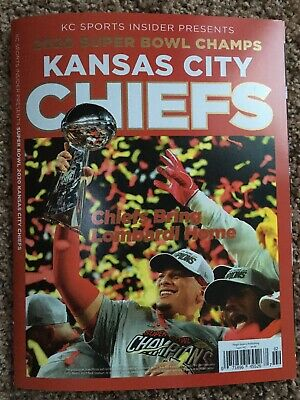 Kansas City Chiefs 2020 Superbowl Champions Magazine