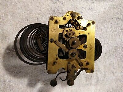 Antique SETH THOMAS Alarm Clock Movement parts or repair