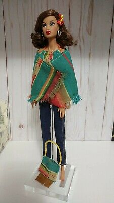 Handmade Barbie Clothes Boho southwestern inspired outfit & accessories