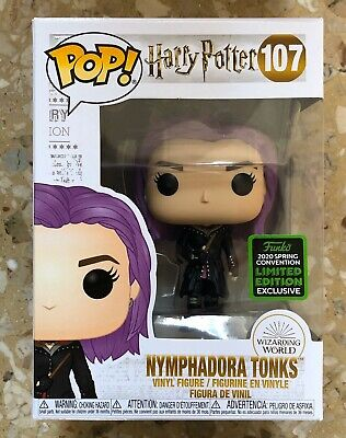 Funko Pop Harry Potter Series Nymphadora Tonks Eccc Shared Exclusive