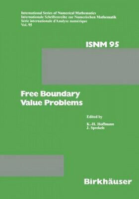 Free Boundary Value Problems: Proceedings of a Conference Held at the