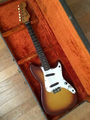 Fender USA Duo Sonic Vintage Slab Board Duosonic Mustang With H/C From JP F/S