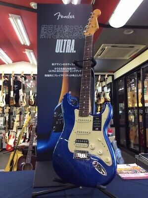Fender AM ULTRA STRAT HSS RW/COB Stratocaster Electric Guitar From Japan F/S