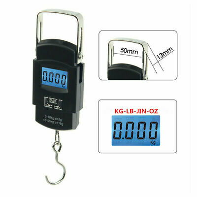 50KG Digital Scale Portable Travel Handheld Weight Luggage Scale for Suitcas Bag
