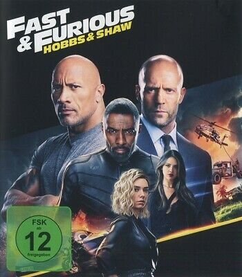 Fast and Furious: Hobbs and Shaw (Blu-ray - gebraucht: sehr gut)