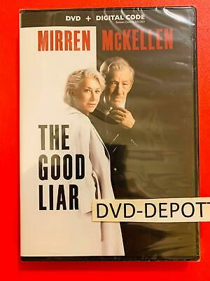 The Good Liar DVD + DIGITAL CODE *AUTHENTIC READ DESCRIPTION* New Free Shipping