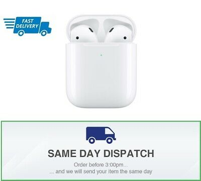 (NEW & SEALED) Apple AirPods 2nd Generation with Wireless Charging Case