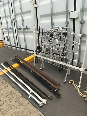 antique cast iron bed frames and rails