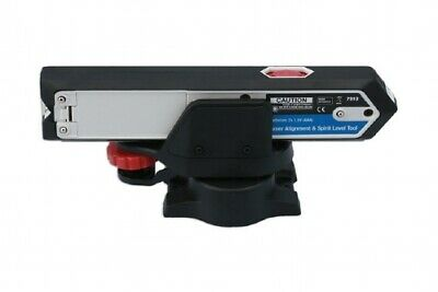 Laser Alignment (line and beam) Tool with 2 spirit levels - Wheel Alignment -