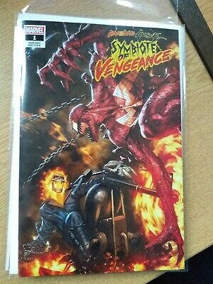 Absolute Carnage Symbiote Of Vengeance #1 Skan Srisuwan Variant Le 600 Coa Nm