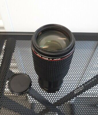 EXCELLENT+ Canon FD 80-200mm f/4 L MF Zoom Lens from Japan