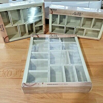 TIM HOLTZ IDEA-OLOGY - Lot of 3 Configurations Boxes - NEW
