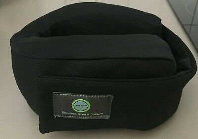 Embrace Sleep Collar Supportive Travel Pillow Memory Foam in black - genuine!