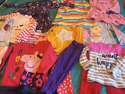 Girl clothes bundle 2-3 peppa pig , dresses leggings tops