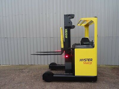 HYSTER R2.0. 5500mm LIFT USED REACH FORKLIFT TRUCK. (#2734)