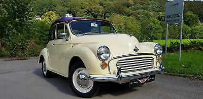 Morris Minor convertible. New engine fitted, superb all rounder