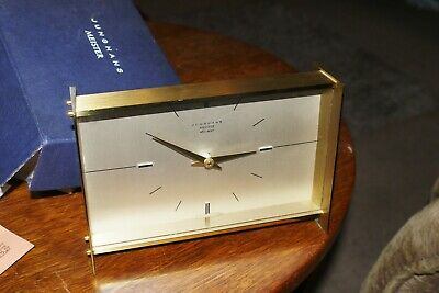 VINTAGE 1970s JUNGHANS ATO-MAT, A QUALITY CLOCK  GOOD CONDITION GOOD TIME KEEPER