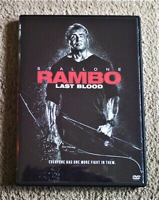 Rambo, Last Blood, DVD, 2019, Sylvester Stallone, Special Features, Rated R