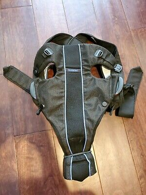 Baby Bjorn Black Air Mesh Baby Infant Carrier 8-21 lbs