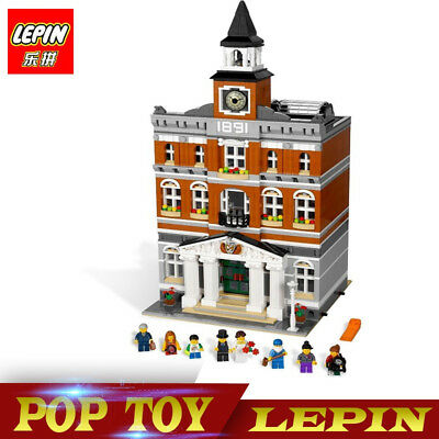 New Custom Creator Town Hall Compitible 10224 Instruction Without Orig Box